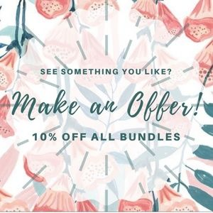 Other - All offers considered ♥️🥂